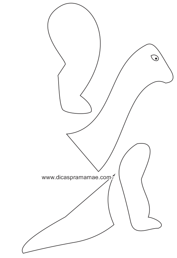dragon cutout template - diy dinosaur birthday decor under 50 petite noir