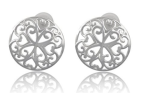 filigree stud earrings
