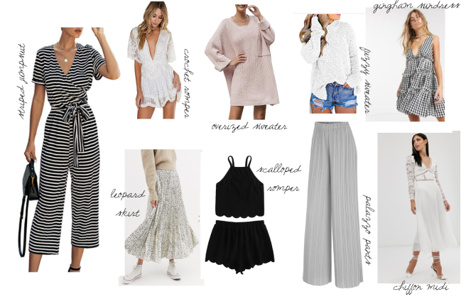 spring wardrob must haves